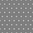Seamless Hexagon pattern background — Stock Vector #26226487