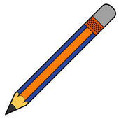 Pencil vector — Stock Vector