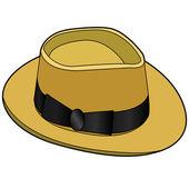 Vecteur de chapeau vintage — Vecteur