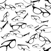 Seamless Spectacle Pattern Vector — Stock Vector