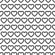 Seamless Heart Pattern Vector — Stock Vector