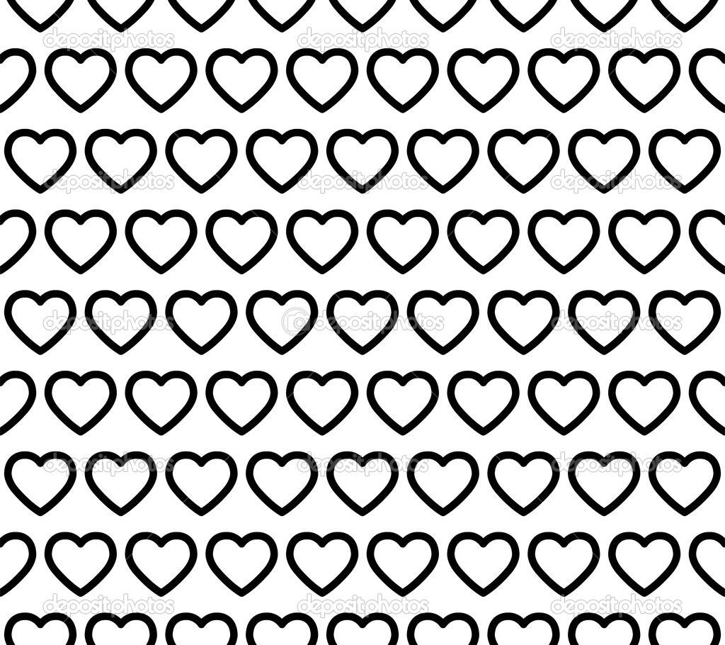 Seamless Heart Pattern Vector — Stock Vector © attaphongw #29763579