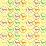 Seamless Cock Chicken pattern vector — Stock Vector #30022937
