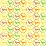 Seamless Cock Chicken pattern vector — Stock Vector