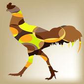 Cock Chicken design vector — Stock Vector