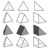 Geometry vector — Stock Vector