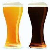 Beer Vector — Stock Vector