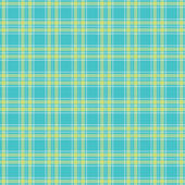 Seamless Green tartan pattern vector — Stock Vector