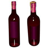 Wine vector — Stock Vector