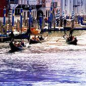 Venice, gran Canal — Stock Photo