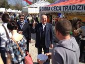 Giancarlo Gentilini a Treviso, 14 aprile 2013 — Stock Photo