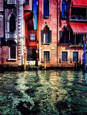 Typical palace in Venice — Stock Photo