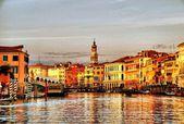 Venice, Rialto - Gran Canal — Stock Photo