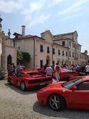 Ferrari meeting — Stock Photo