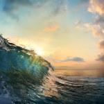Sunset at sea — Stock Photo #51227525