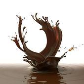 Brown hot coffee — Stock Photo