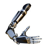 Sci-fi robot arm — Stockfoto