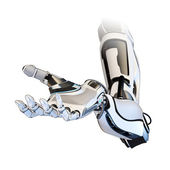 Cybernetic arm — Stockfoto