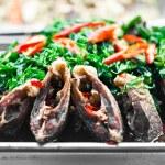 Fried fish,Thai style food — Stock Photo #44119211