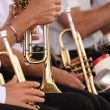 Stock Photo: Brass band