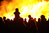 Bonfire night — Stock Photo
