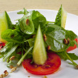 Stock Photo: Vegetable Salad on plate