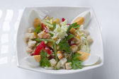 Delicious mixed salad — 图库照片