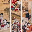 Stock Photo: KatsukawShunsho. Activities of Women in Japin 18th Century