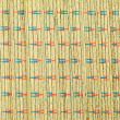 Wooden striped textured weaving background - Wicker Woven — Photo