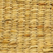 Wicker wood pattern background - bamboo texture background — Stock Photo