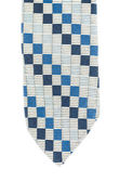 Pattern of square necktie isolated on white background — Foto Stock