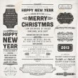 Stockvector : Christmas decoration collection