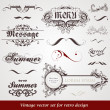 Royalty-Free Stock Imagen vectorial: Set of vintage labels