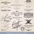 Royalty-Free Stock Imagem Vetorial: Set of vintage labels