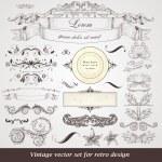 Set of vintage labels — Stock Vector #14478407
