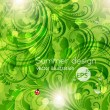 background green — Image vectorielle
