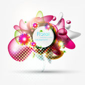 Colorful Vector Bubbles Design — Stock Vector