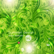 Green background - Imagen vectorial