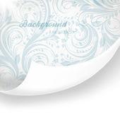 残缺无缝花卉背景为复古设计的 — 图库矢量图片