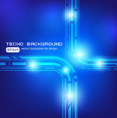 Techno background — Stock Vector