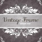 Vintage frame — Stock Vector #14590101