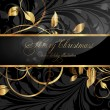 Royalty-Free Stock Vector Image: Elegant christmas background with place for new year text invitation