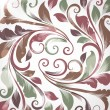Seamless floral background green, white and magenta - Imagen vectorial