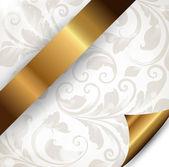 Sin costura primavera o verano wallpaper, fondo de vector para el diseño. — Vector de stock