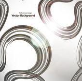 Abstract retro technology circles vector background. — Stock Vector