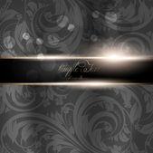 Sömlös bakgrund, vektor bakgrund, silke. svart — Stockvektor
