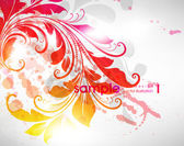 Abstract flora background — Stock Vector