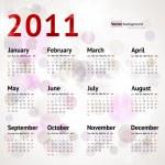 2011 Calendar — Stock Vector #15333985