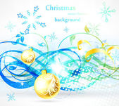 Jul affisch — Stockvektor