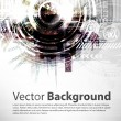 Stock Vector: Abstract Techno Vector Background.